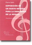 portada Exposición de un Nuevo Método para la Enseñanza de la Música