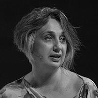Carmen Pellicer en blanco y negro