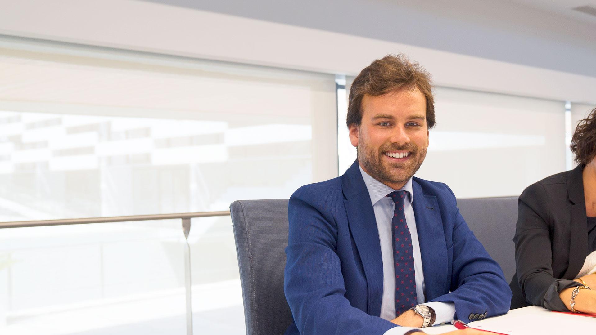 alumno del MBA de CEU Andalucia