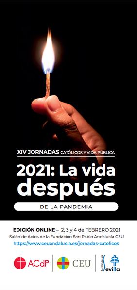 Portada XIV JCVP - 2021: La vida después de la pandemia